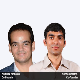 Abhinav Mahajan, Co-Founder,Aditya Sharma, Co-Founder