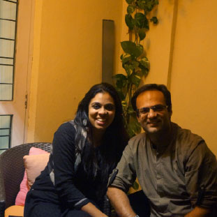 Akshata Menon Vig & Dev Vig, Co-Founders ,