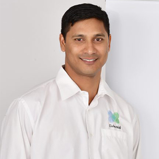 Santosh Abraham,Co-Founder