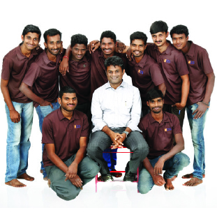 Prashanth H & Team        ,Co-Founders