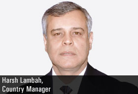 Harsh Lambah, Country Manager, Regus India