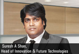 Suresh A Shan, Head of Innovation & Future Technologies, Mahindra Finance services Ltd