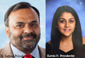 Dr. Satyam Priyadarshy, Chief Data Scientist, Halliburton and Kavita N. Priyadarshy, Founder & CEO, Sahas