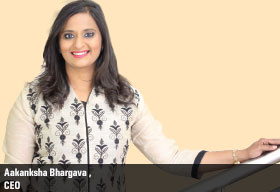 Aakanksha Bhargava CEO  PM Relocations Pvt. Ltd.